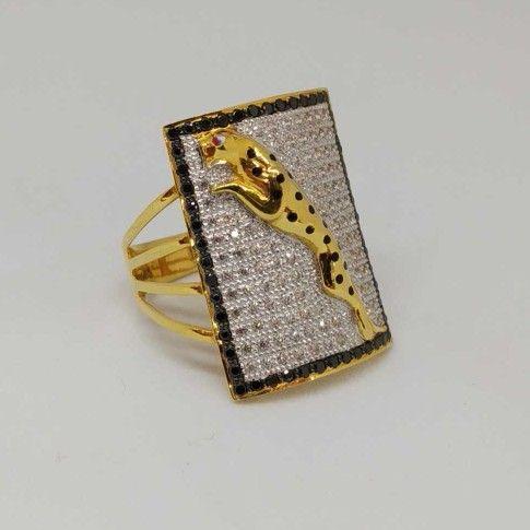 22 kt gold gents branded rings.