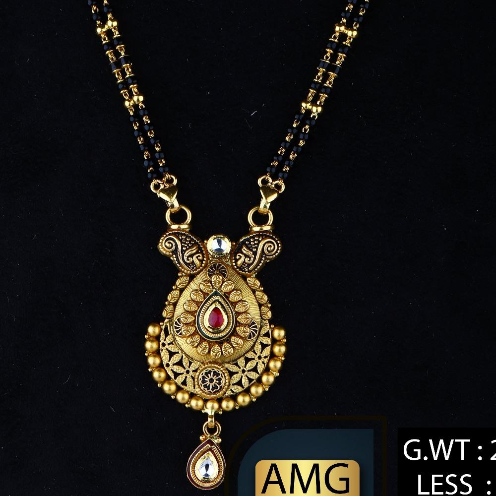 Antiqe mangalsutra amg-0495