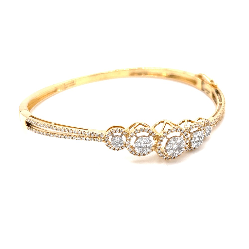 Schön Diamond Bracelet with 5 Circular Motif