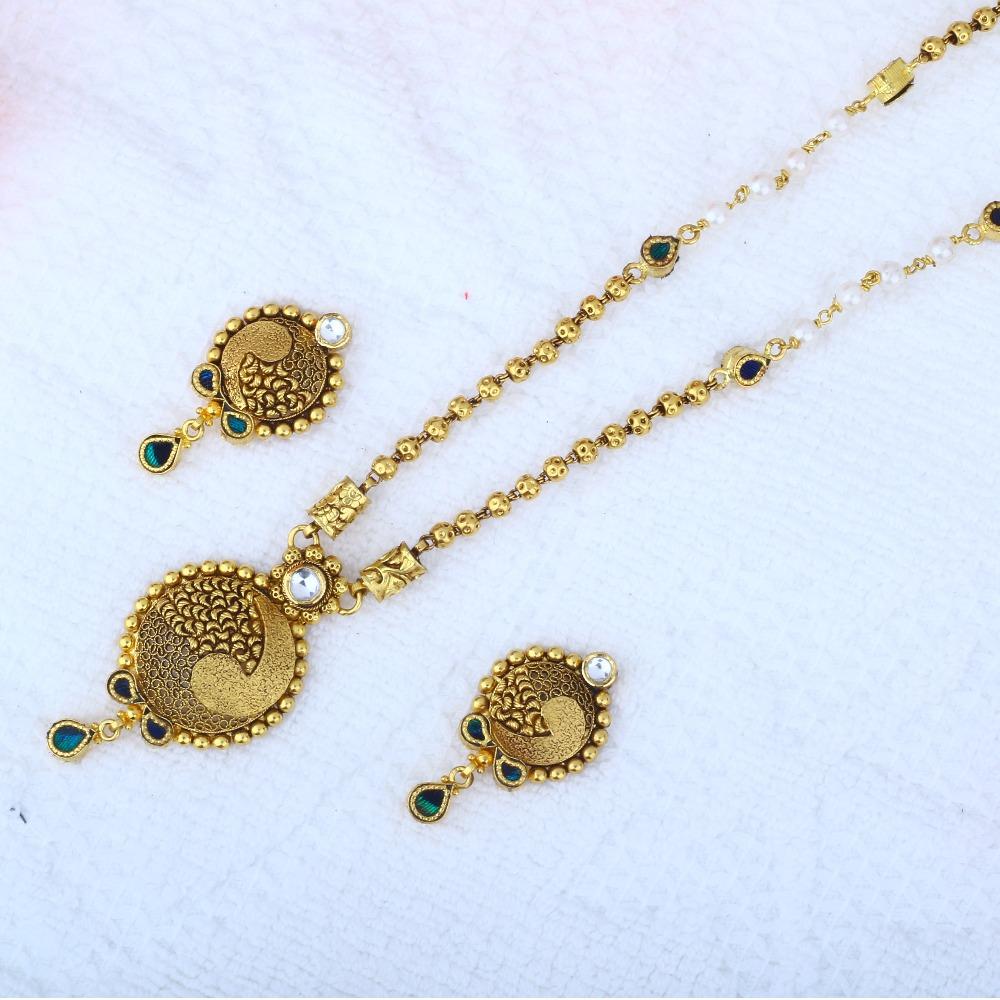 916 Gold Antique Dokiya JAC - N8394