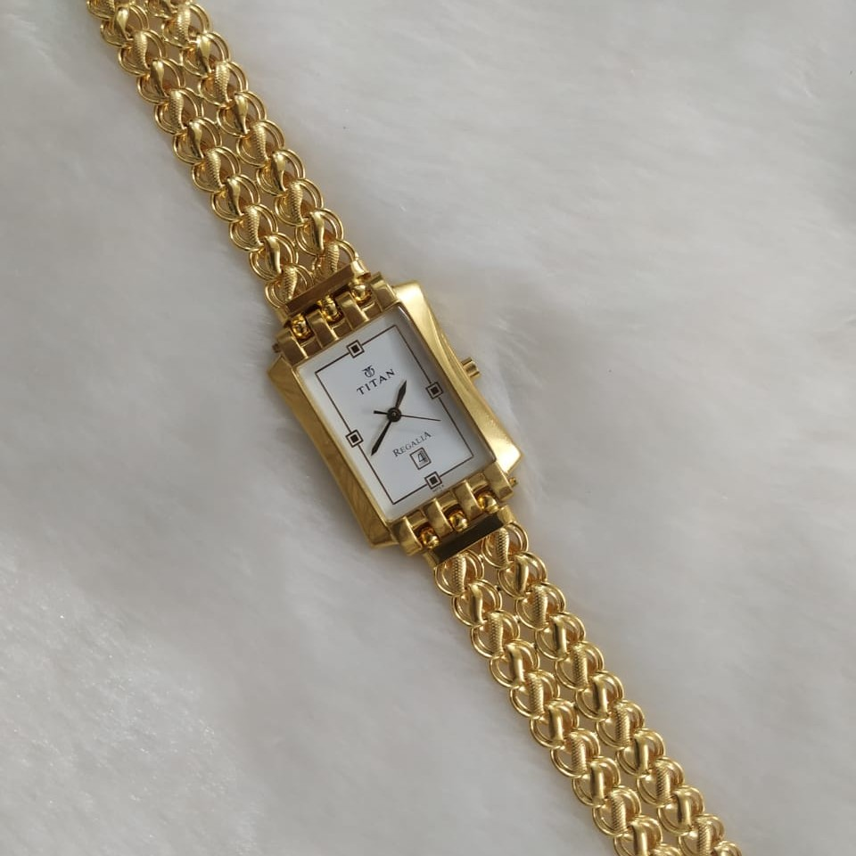 916 Gold Gent's watch belt