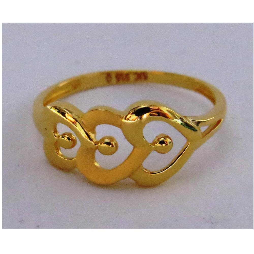 916 plain casting heart ring