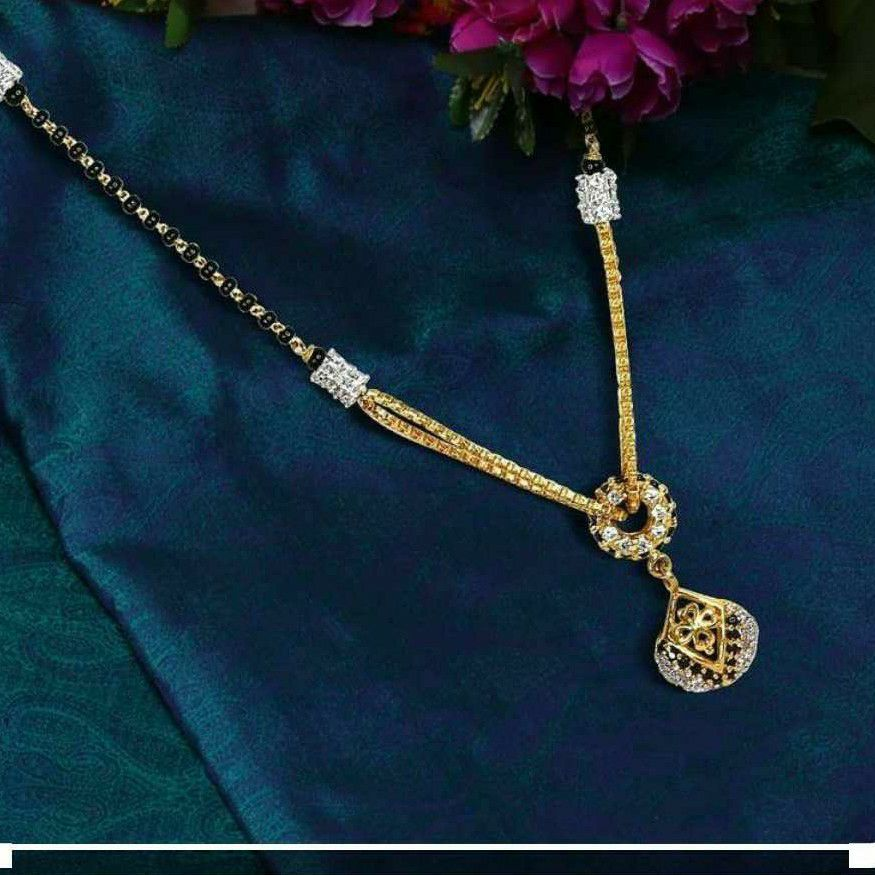 916 Gold Fancy Dokiya Mangalsutra