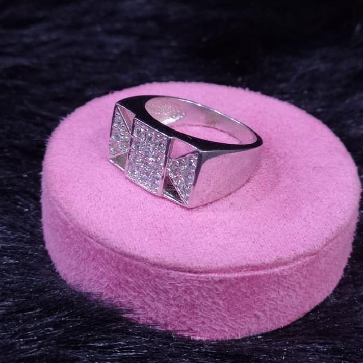 92.5 Sterling Silver Ohiyo Ring For Men