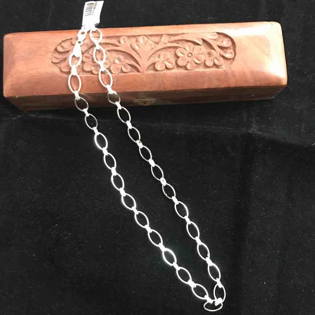 925 silver Indo Italian Hollow chain
