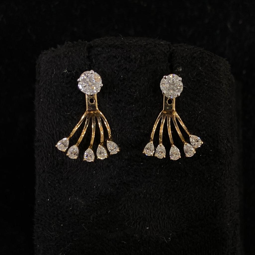 Solitare Look Diamond Earrings
