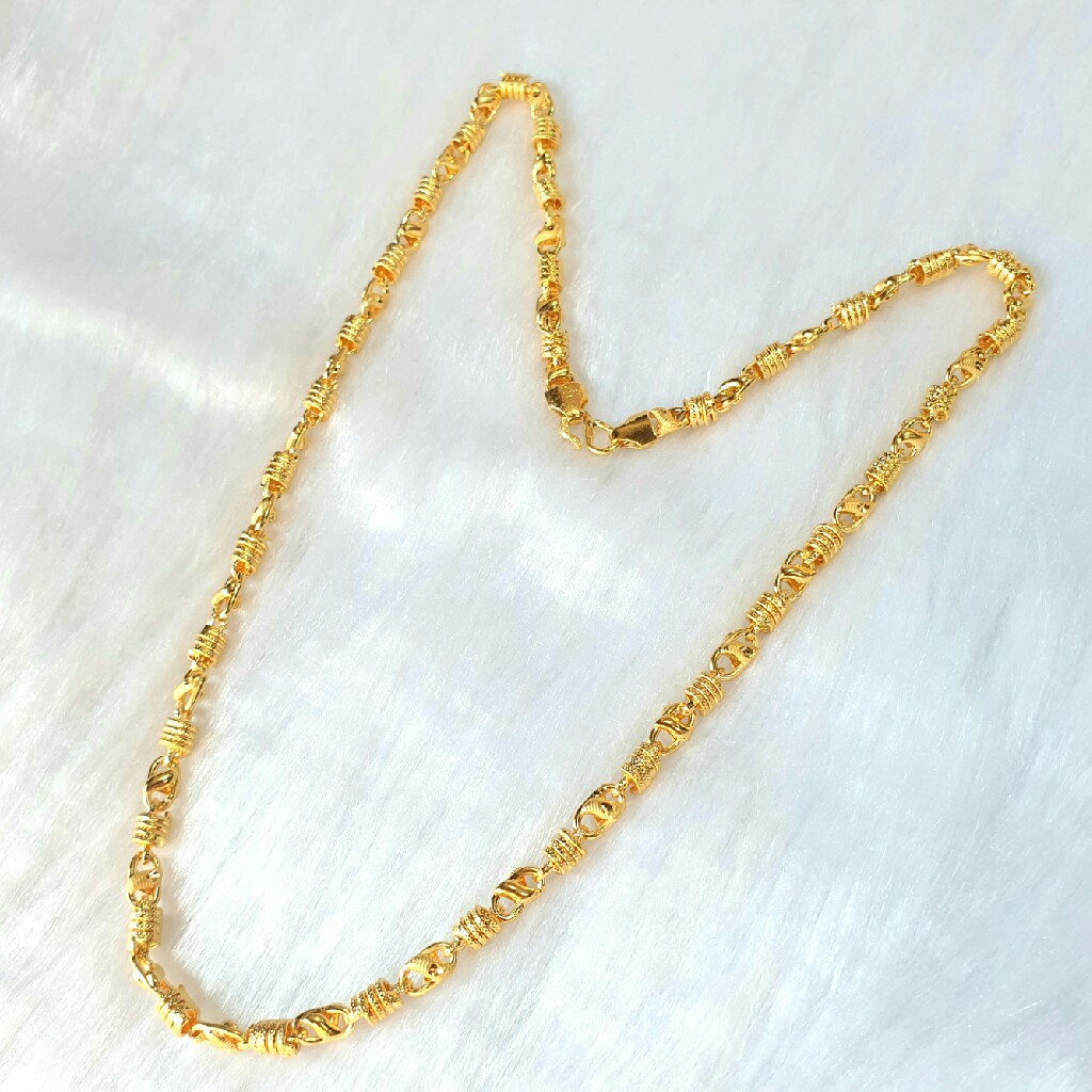 One gram gold forming chain mga - gf005