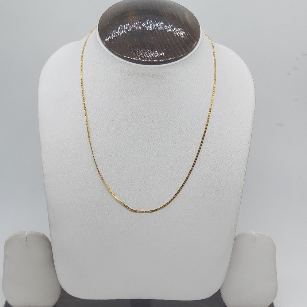 22k gold Chian in light weight for gifts