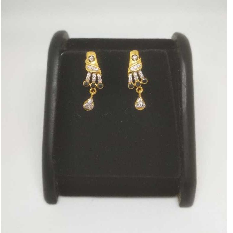 22 K Gold Fancy Earring. NJ-E0937