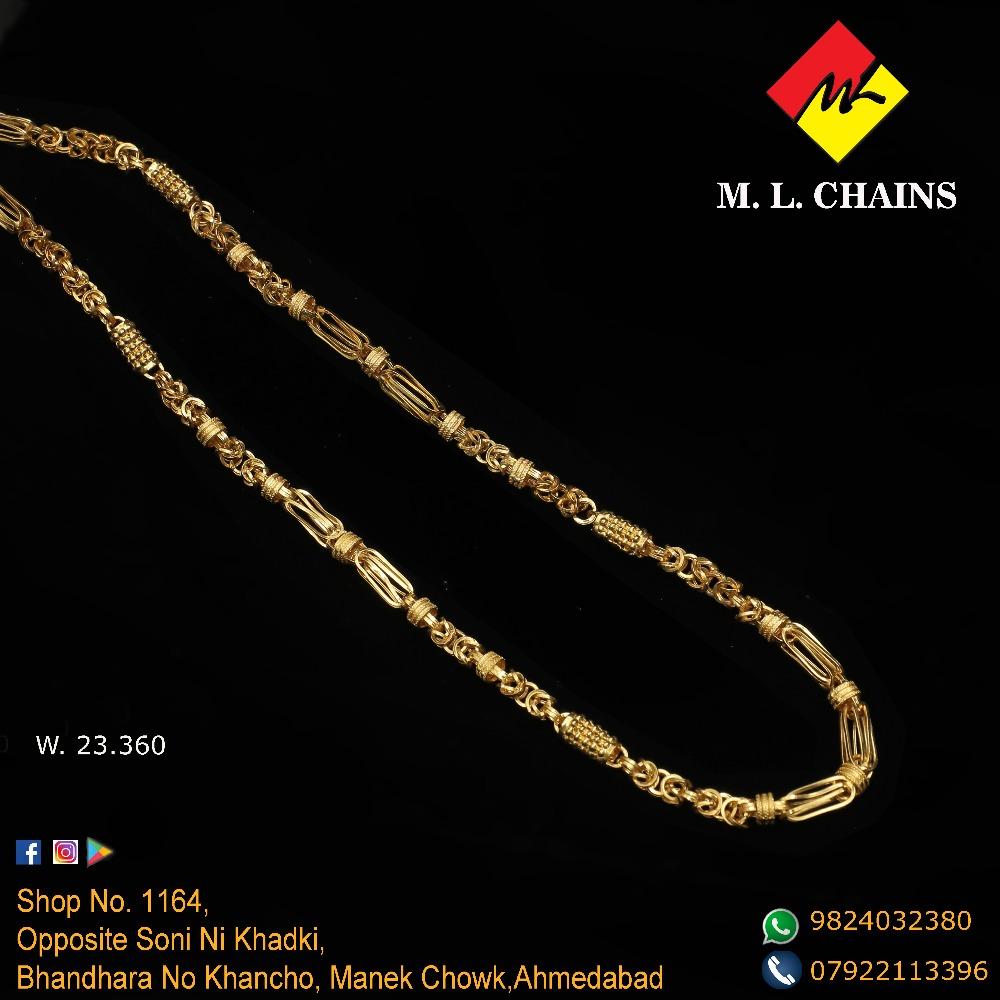 916 Gold Chain For Men ML-C12
