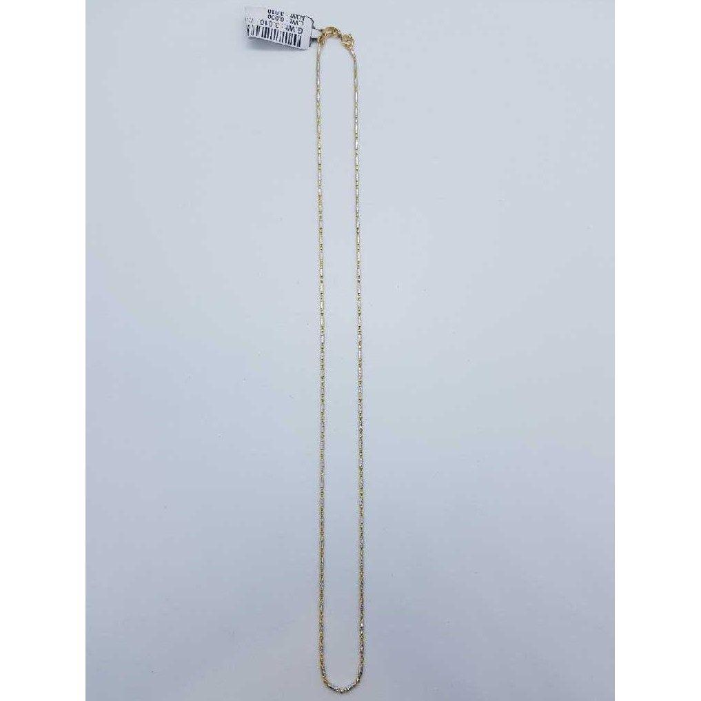 Gold Rhodium chain SJ-CHIN/29