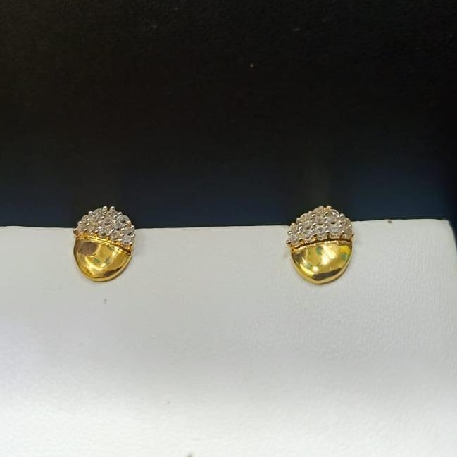 18CT Gold Antique Small  Design Hallmark Tops