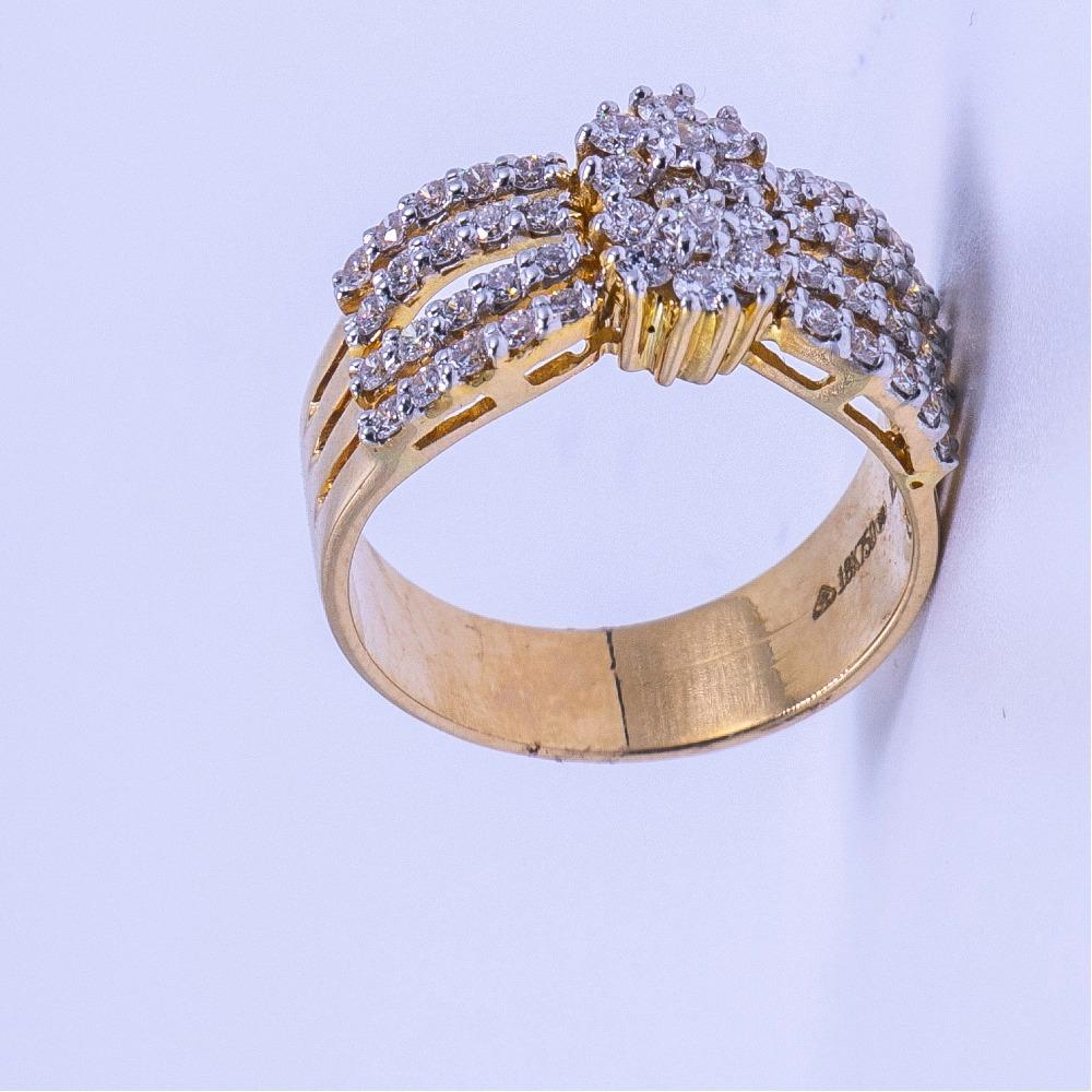 18k gold diamond ladies ring agj-lr-305