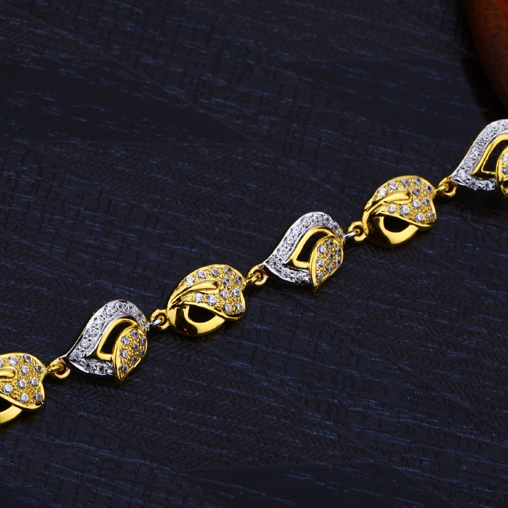 Ladies 22K Loose Gold Lucky-LB138