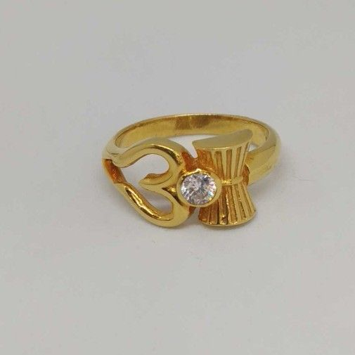 22 Kt Gold Ladies Branded Ring