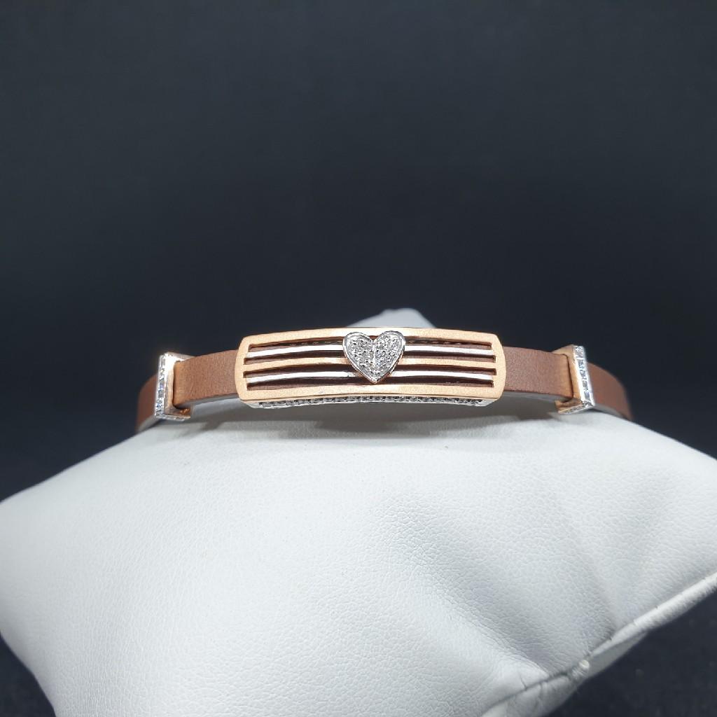 18k Leather Belt Ladies Bracelet