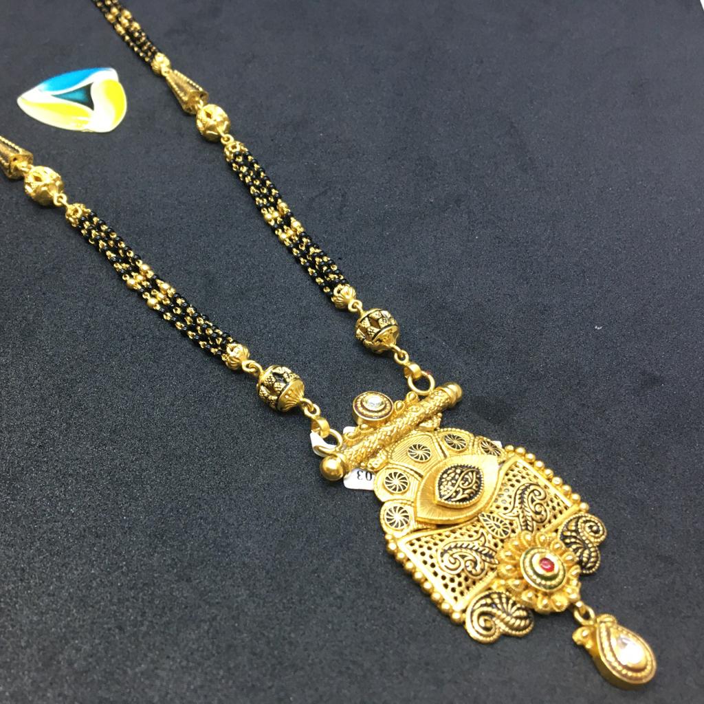 22kt stylish antique Mangalsutra