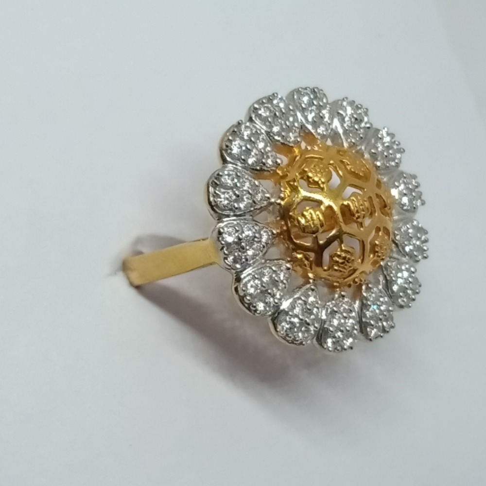 22KT Gold Ladies Ring LJ-7