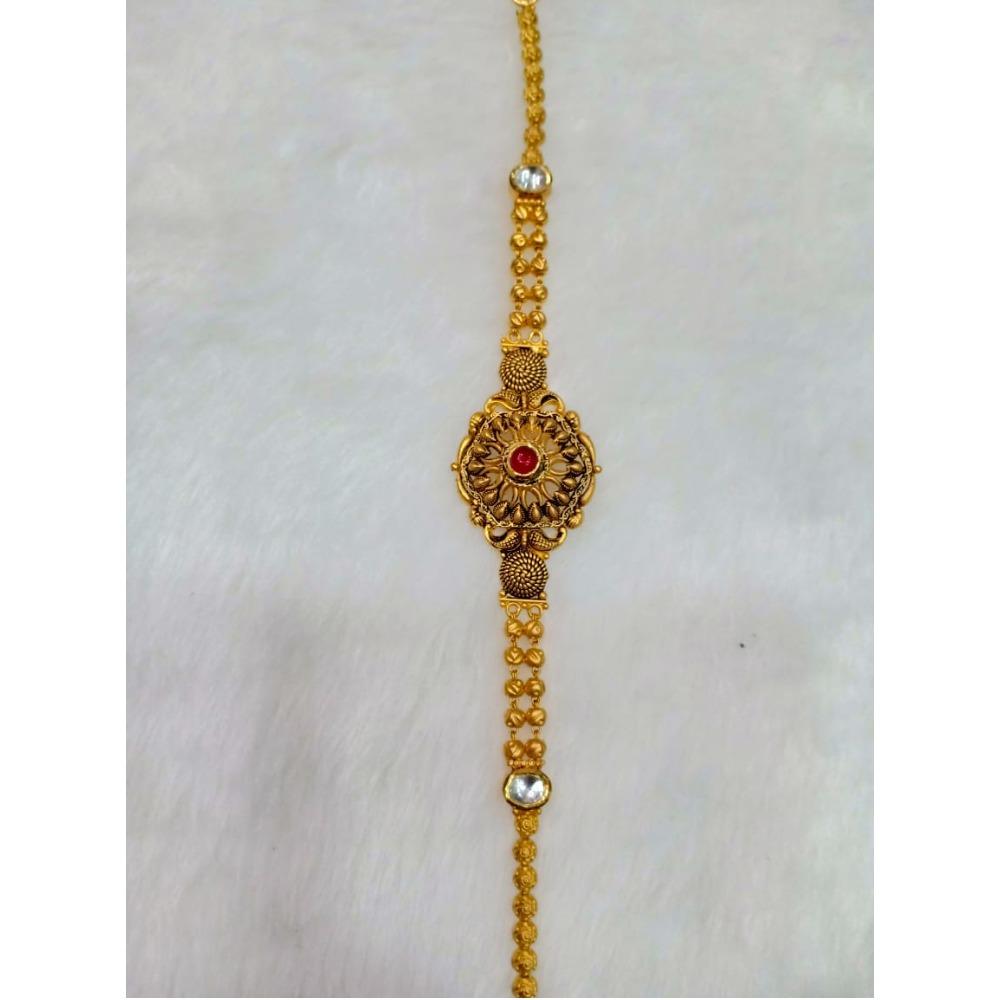 22kt gold antique ladies bracelet kv-AB002