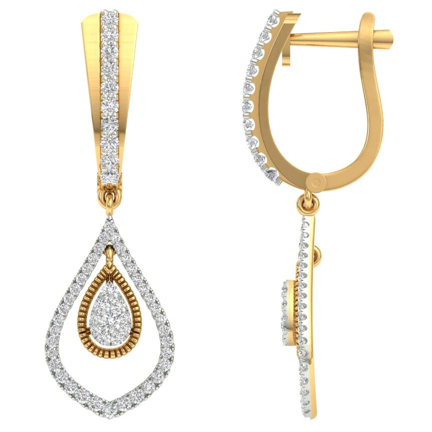Real diamond fancy bali