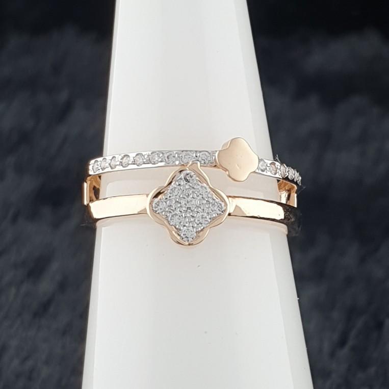 rose gold ladies ring