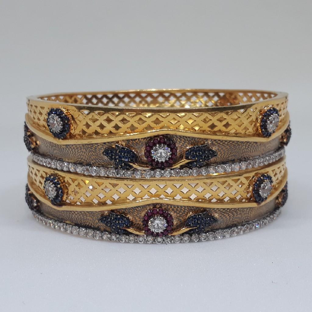 22ct Antique Diamond Bangle bg /2542/107