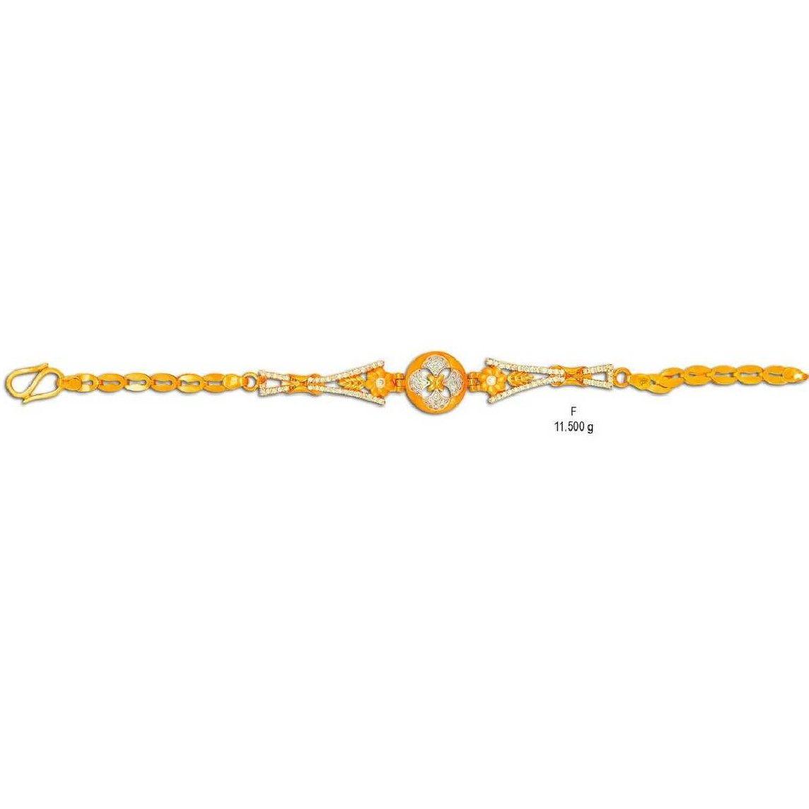 22K/916 gold Fancy Ladies Lucky (Bracelet)