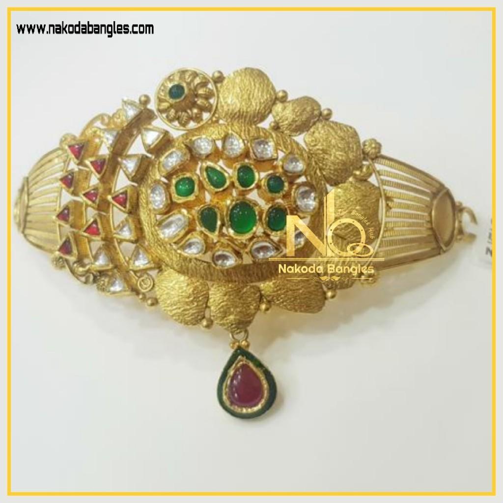 916 Gold Antique Bajubandh NB-331
