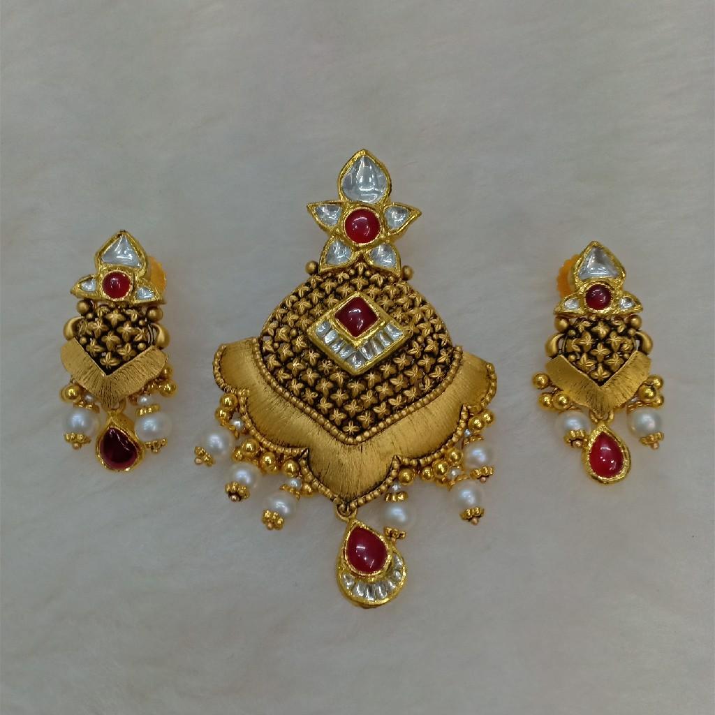 916 antique pendant set aps-013