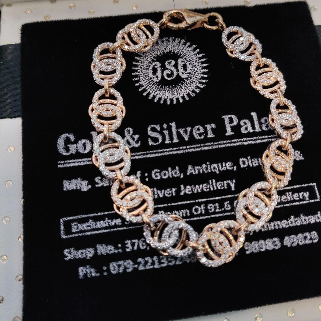 Fancy Rose Gold Bracelet