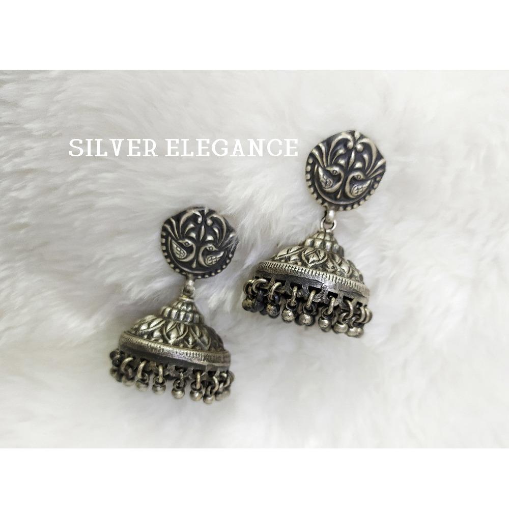 Silver classic jummar earring se-e007