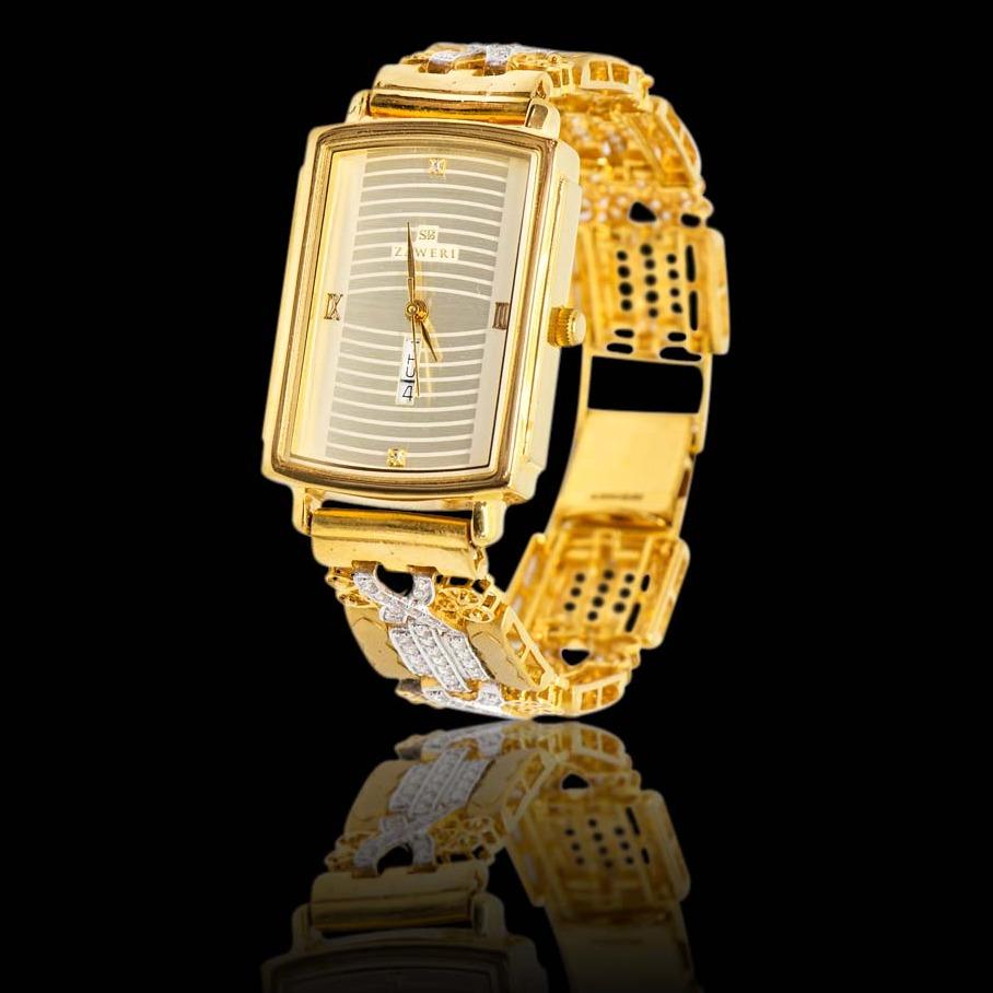 916 Gold Hallmark Classic Watch
