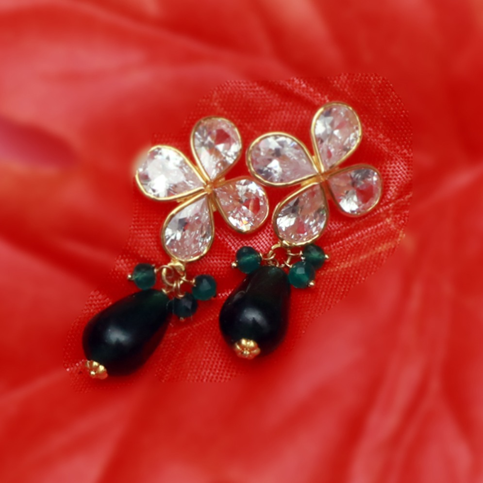 22Kt Gold Designer Necklace Set PJ-N009