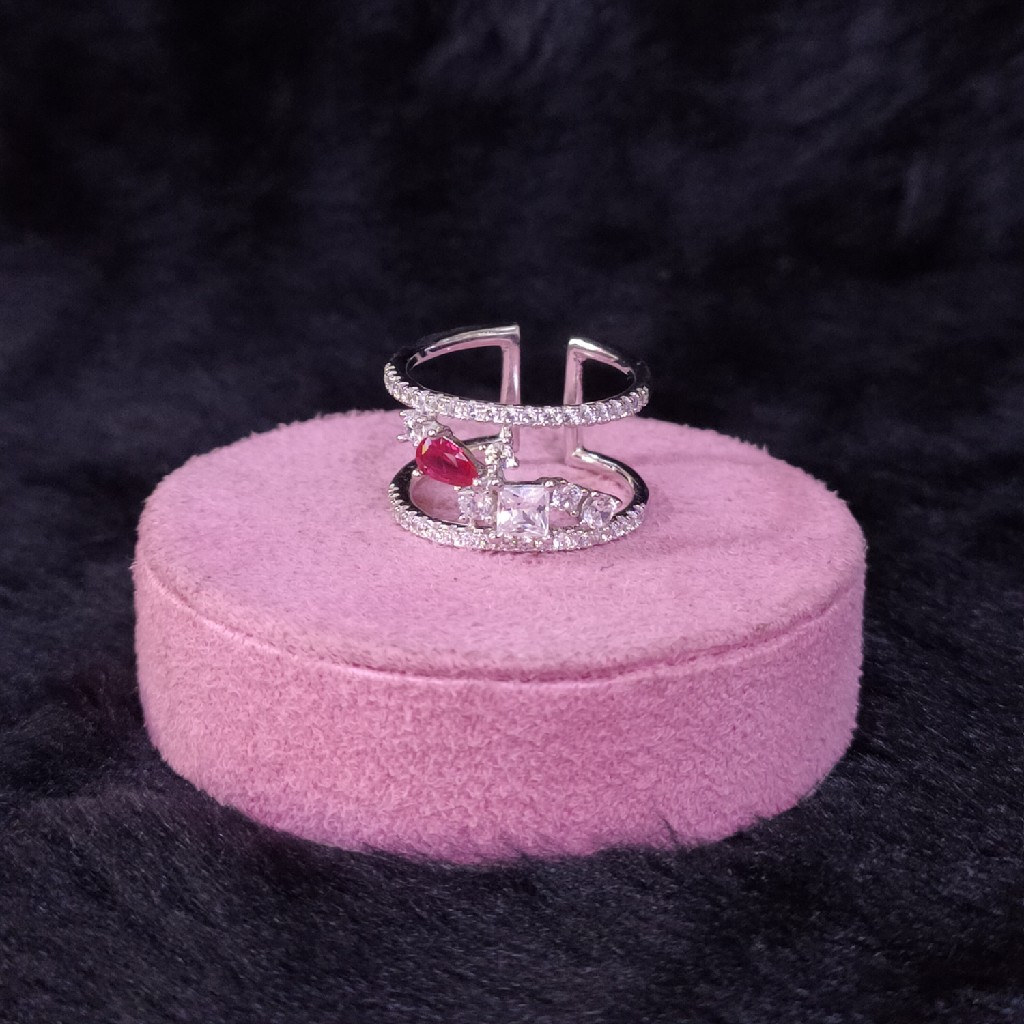 92.5 Sterling Silver Modern Ring LRS-1056