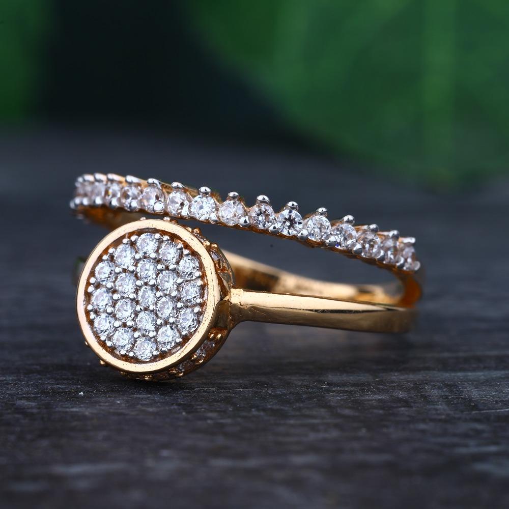 916 Gold Hallmark Attractive Rign for Women