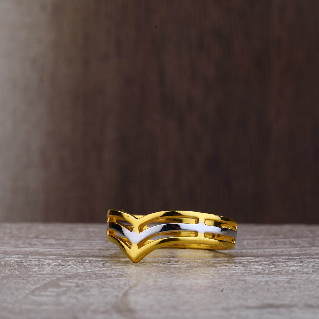 Ladies 916 Fancy Plain Ring-LPR159