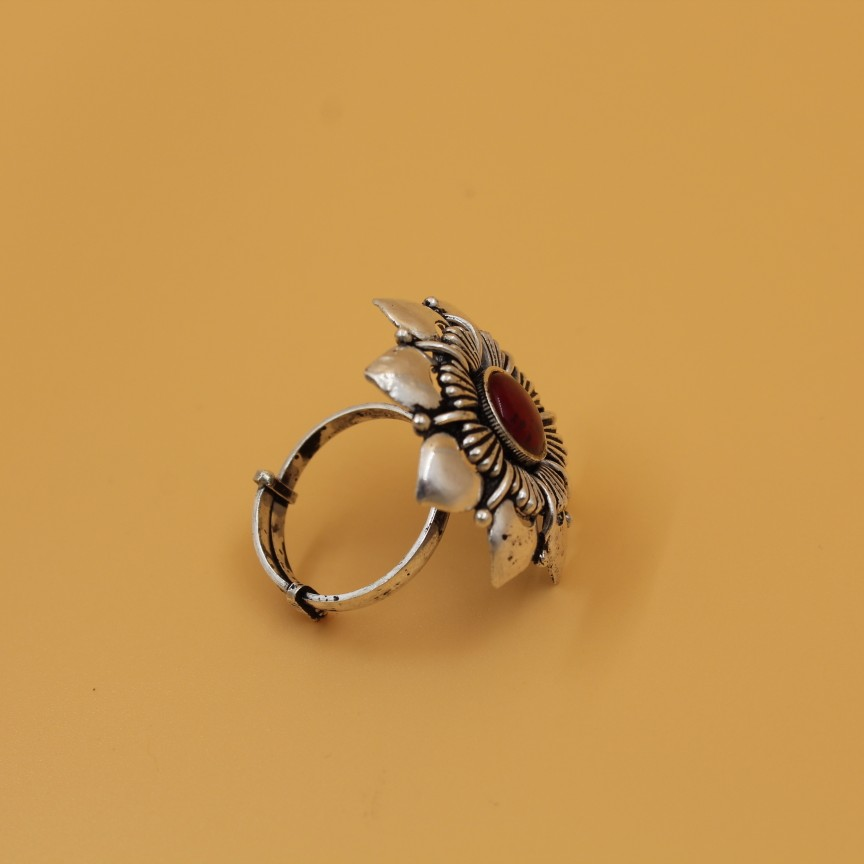 92.5 ANTIQUE SILVER RING SL R049