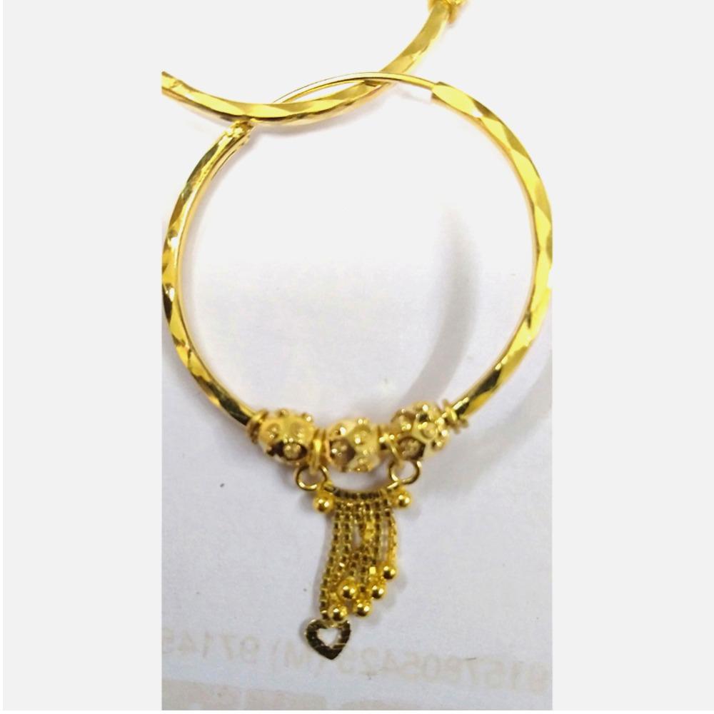916 Gold Light Weight Latkan Earring