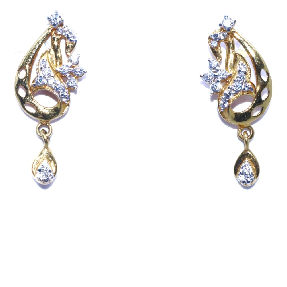 22KT / 916 gold fancy earring gift for Your mother's day BTG0120