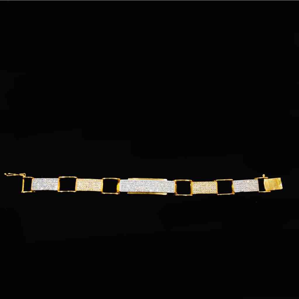 22kt 916 exclusive gents bracelets(luckey)