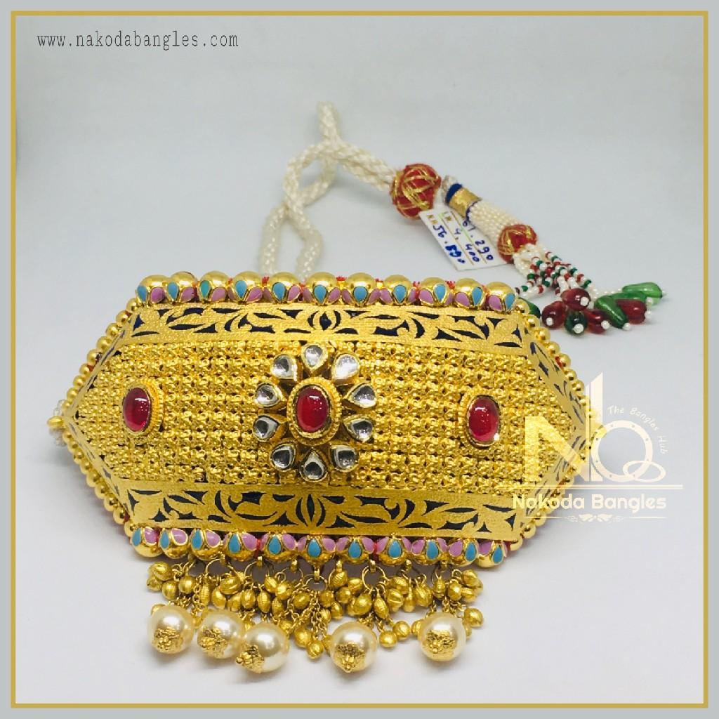 916 Gold Antique Bajubandh NB-361