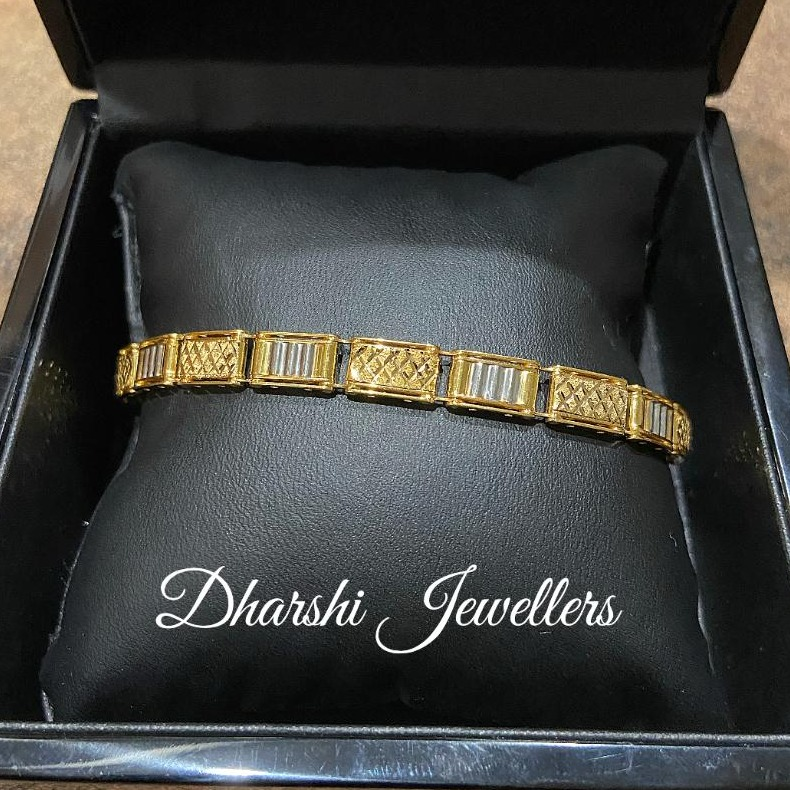 22K Gold Gents Lucky