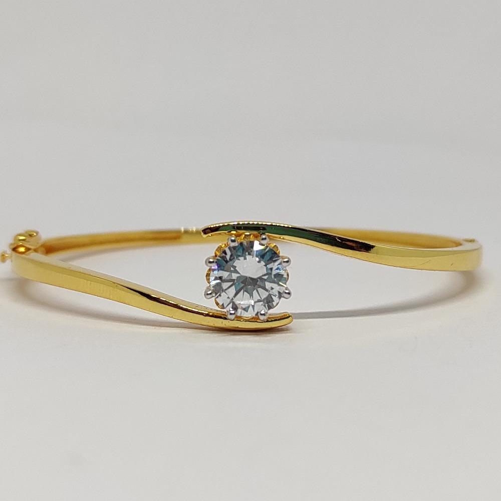 Solitaire Gold Bracelet