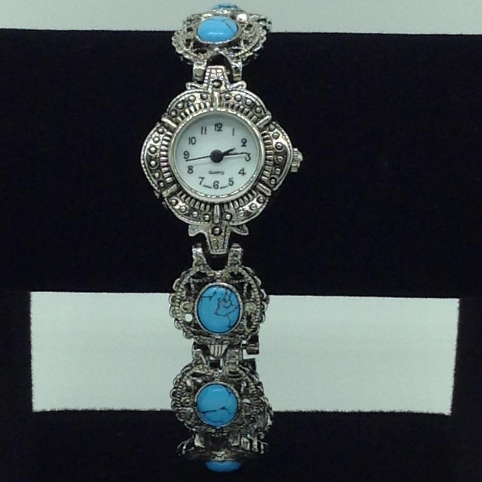 Turquoise oval designerwatchjbg0219