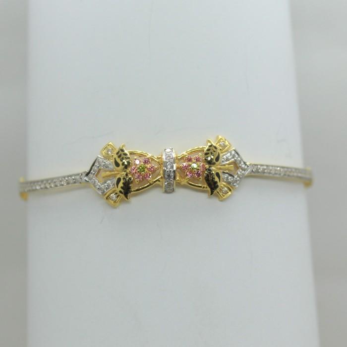 916 fancy light weight bracelet