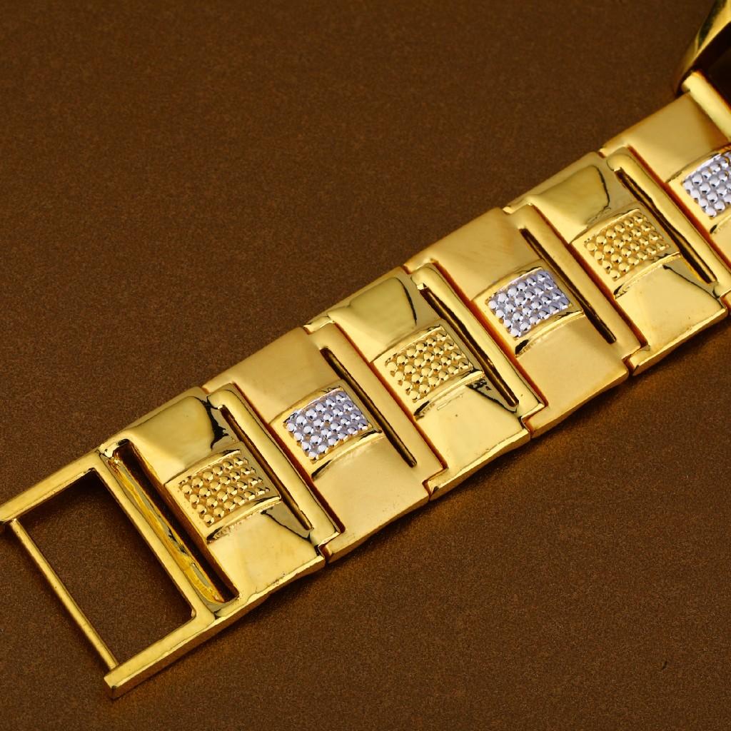 22kt Gold Hallmark Fancy Mens Watch MW12