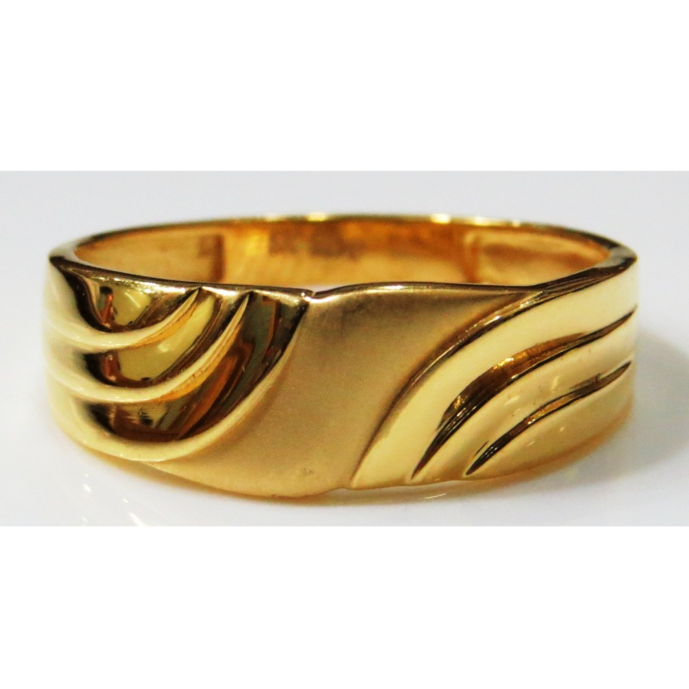 22kt Gold Plain Casting band  Ring for both