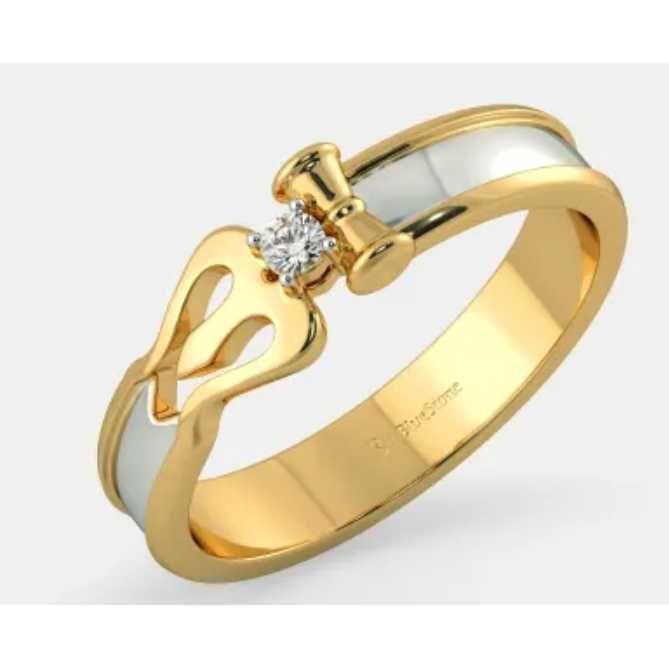 916 fancy gents ring