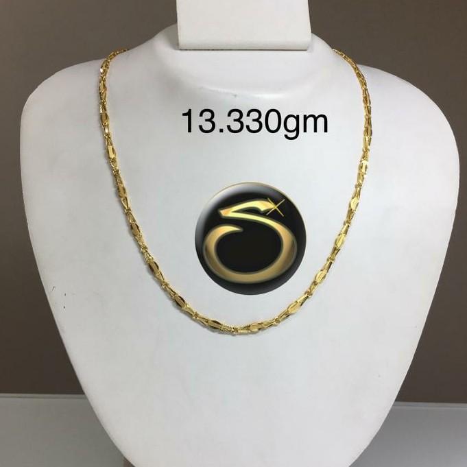 916 Gold Handmade chain SC-WJ3049