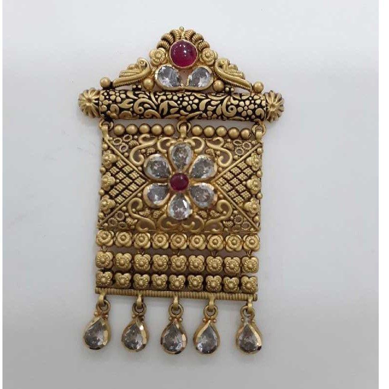 916 Antique Exclusive  Jadtar Pendant